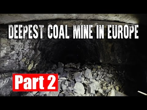 DEEPEST COAL MINE IN EUROPE available for Tourists.  #PART 2