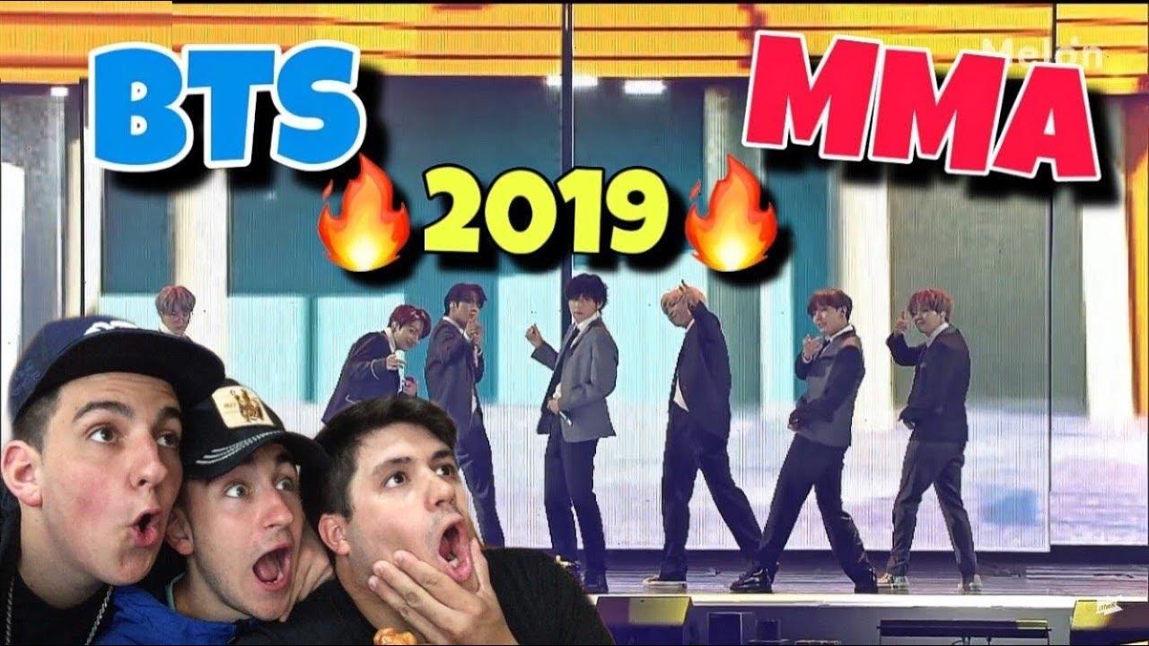 [MMA 2019] *BTS* | Full Live Performance (REACCION)