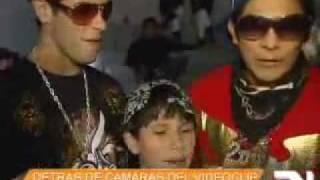 Detras de Camaras del Rap del Gringo Atrasador - America Noticias
