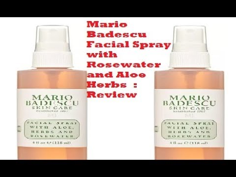 Mario Badescu Facial Spray With Rosewater And Aloe Herbs