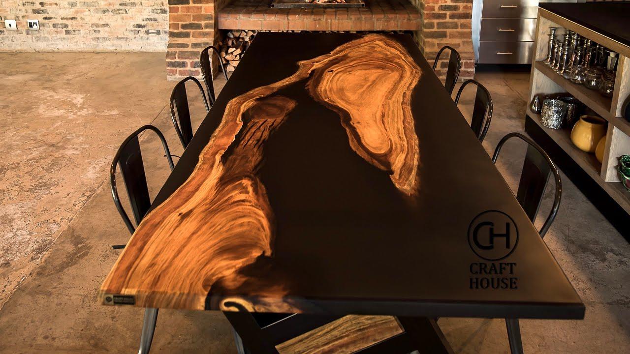 Island Epoxy Table | DIY Woodworking