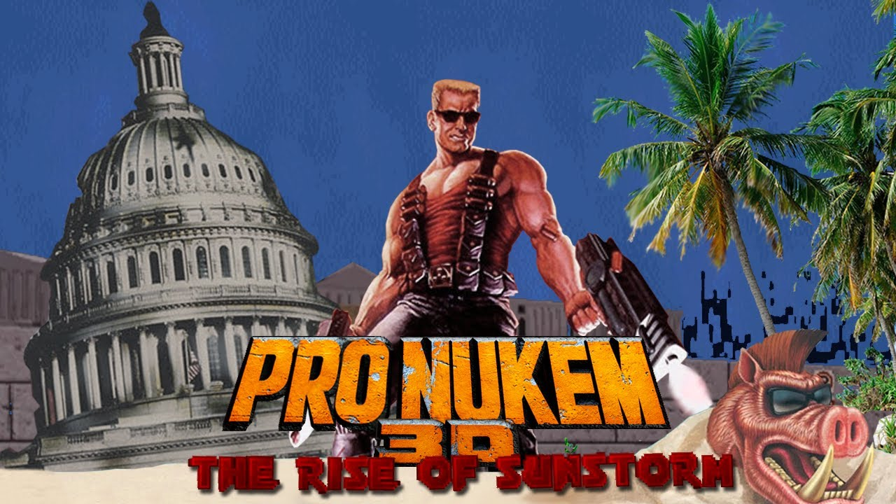 Pro Nukem 3D: The Rise of Sunstorm