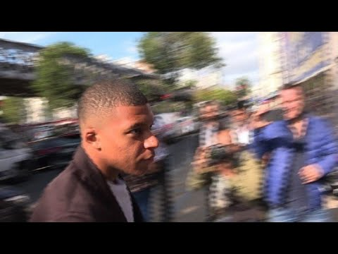 PSG's Mbappe attends appeal hearing over match suspensions
