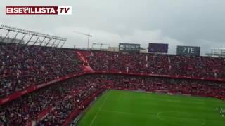 Himno del Sevilla FC en el Sevilla FC - Atlético de Madrid