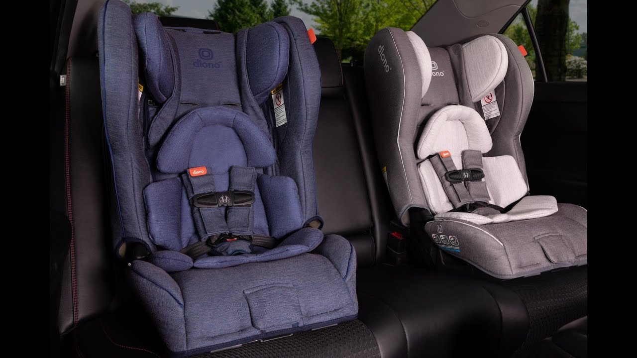 All You Want To Know About NEW Diono Rainier Car Seats