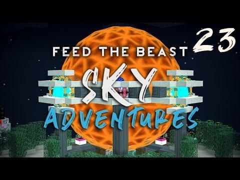 FTB Sky Adventures Ep. 23 Draconic Evolution Tier 8 Energy Core