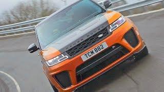 Range Rover Sport SVR (2018) High-Speed Test Drive