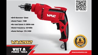 Máy khoan động lực VAC 13mm - VA1202