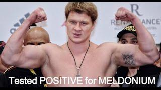Alexander Povetkin & Meldonium the Magic drug #LDBC