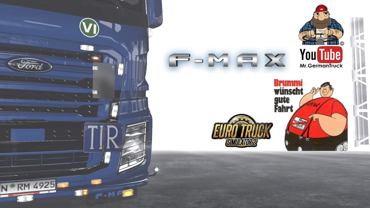 [ETS2 v1.37] FORD F-MAX Tuning Accessory Pack v1.0 *Holland Style*