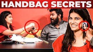 Pure Poison Inside Manisha Shree Handbag Revealed By VJ Ashiq | What's inside the Handbag