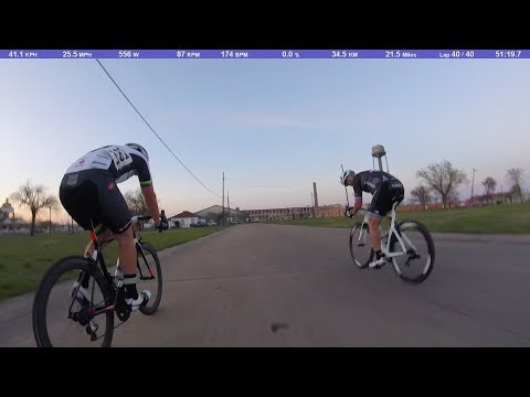 McKinney Wednesday Night Crit 3/14/18 - A Race Extended Highlights