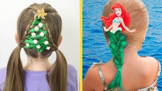 13 Cute Hairstyle Ideas For Little Girls By 5 Minute Crafts Zone