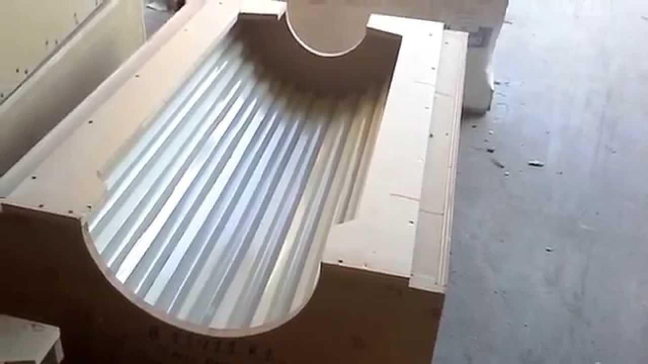 Smu Fluted Gfrc Columns Part I Mold Design Shop Ticket