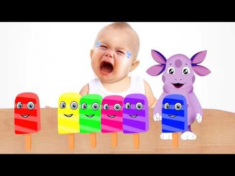 Маша и медведь украли Мороженое Малыш Плачет! Учим цвета Видео для Детей Learn C