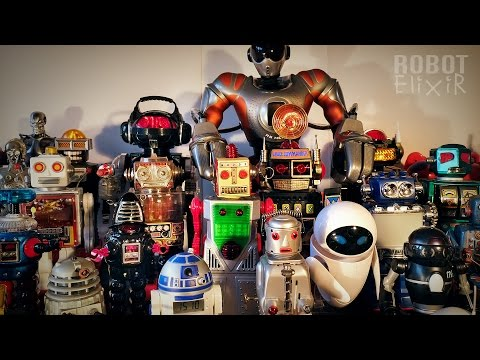 My Toy Robot Collection | Vintage & Collectible Toys