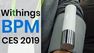 Misuratore di pressione e smartwatch che registra ECG per uso medico da Withings al CES