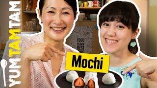Wir machen JAPANISCHE MOCHI selbst!  // Mit Kaoru Iriyama // #yumtamtam