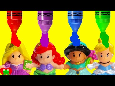 Thumbnail: Best Learn Colors For Preschool Disney Princess Grow With Magical Color Potion