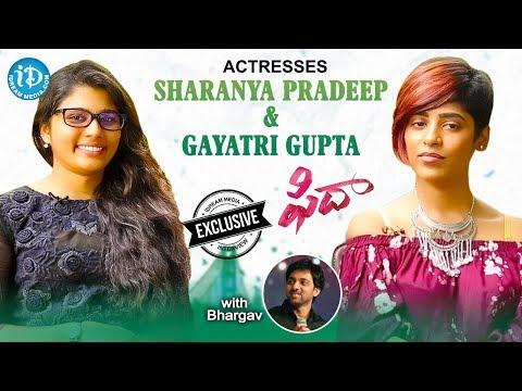Fidaa Movie Actresses Sharanya Pradeep And Gayatri Gupta Exclusive Interview || Talking Movies #450