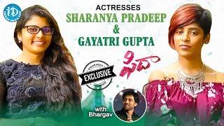 Fidaa Movie Actresses Sharanya Pradeep And Gayatri Gupta Exclusive Interview    Talking Movies #450