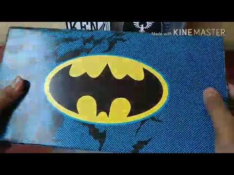 393812f94b71b5 Unboxing Sepatu converse Batman - YouTube