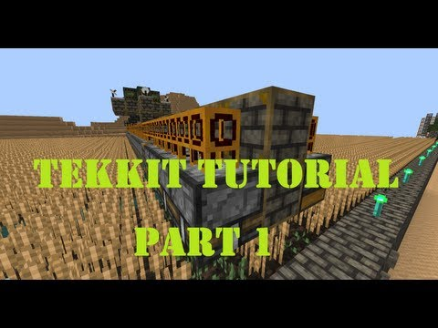 HOW TO 100% automatic wheat farming machine (Large scale) [ Minecraft / Tekkit / Redpower ] part 1
