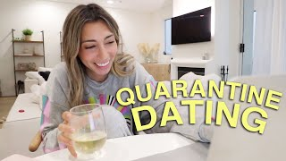 attempting DATING in quarantine *I went on a facetime date*