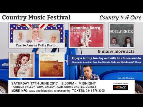 Country Music Festival   Hot Radio Interview - June 17th 2017