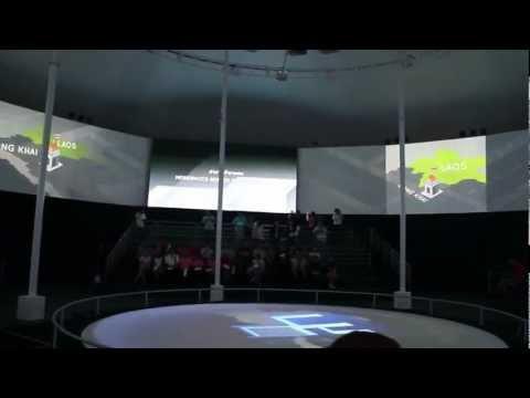 Multimedia ในโดมในงาน Thailand 2020