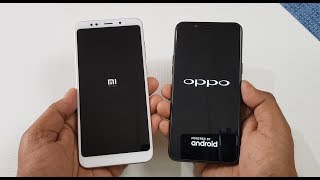 Xiaomi Redmi Note 5 vs OppO A83 Speed Test | Which is Faster !