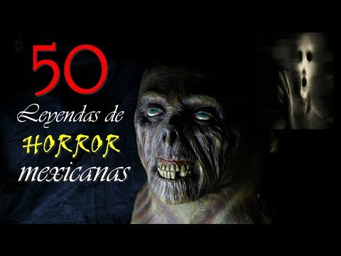 50 LEYENDAS DE HORROR MEXICANAS (para escuelas)