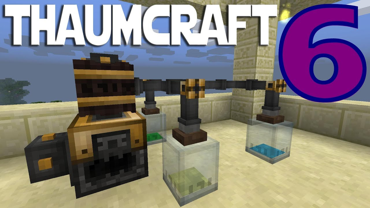 Lets Play Minecraft Thaumcraft 6 ep 11 - Making Tubes And Liquid Essentia  by bongotezz