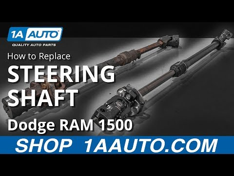 How to Replace Intermediate Steering Shaft with Coupler 1995-2001 Dodge Ram 1500 Truck