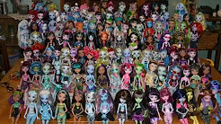 Monster high doll names  YouTube