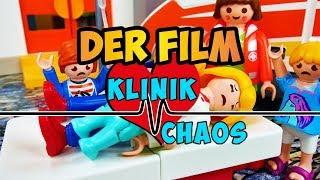 Klinikchaos - Der Film | EPIDEMIE IN PLAYMOBIL CITY | Familie Vogel im Krankenhaus | Serie