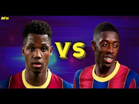 Download Ansu fati vs Ousmane Dembélé ll who is much more important 2020/21
