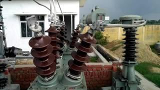 10 mvar capacitor bank at upptcl 132 kv substation