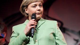 """Angela Merkel & Wolfgang Schäuble singen """"Für Obama"""" & """"Du hast 'nen Freund in mir"""""""