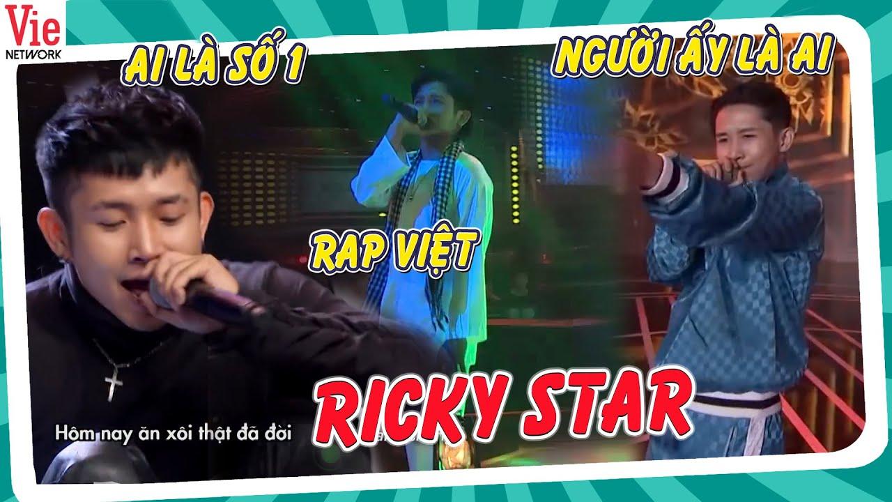 Ngoài Bắc Kim Thang tại Rap Việt, Ricky Star còn khuấy đảo cả Người Ấy Là Ai, Ai Là Số 1