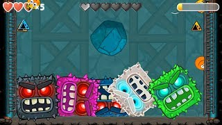 - RED BALL 4 3 C.ORANGE Blue ball FUSION BATTLE with 5 BOSSES VOLUME 5 New Update