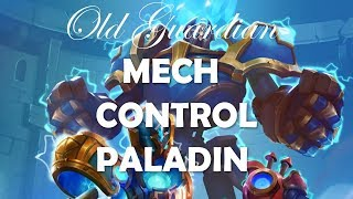 Experimenting with Mech Control Paladin (Hearthstone Boomsday deck guide)