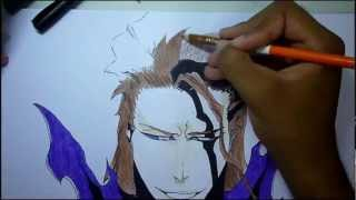 Speed Drawing Aizen Sousuke