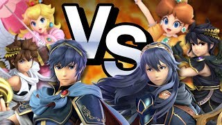 Echo Fighters in Smash Bros