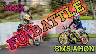 FU BATTLE!! SMS AHON TUMBANGKAN VOCUS MAJU MOTOR!!
