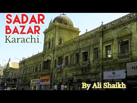 Sadar bazar Karachi / Sadar bazar buildings Karachi ( Karachi travel series )