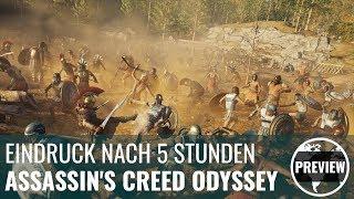 Assassin's Creed Odyssey in der Preview: 5 Stunden in Griechenland
