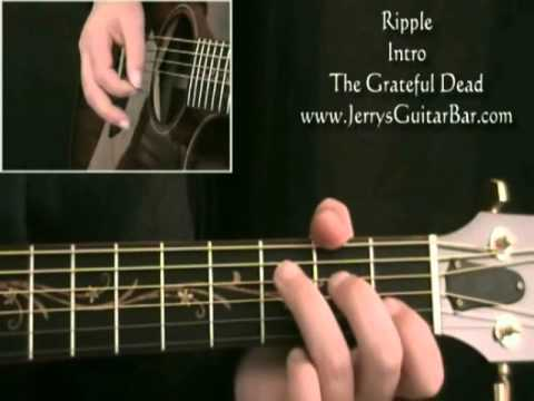 How To Play The Grateful Dead Ripple intro only - YouTube