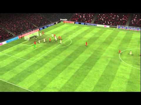FC Bayern vs Leverkusen - Van Buyten Goal 18 minutes