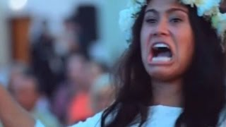 Viraler Hit: Wie ein Haka-Tanz die Braut zu Tränen rührt